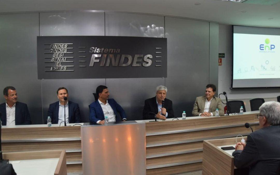 Lançada na Findes em Vitória aEnergy PlatformEspirito Santo (EnP ES) com o objetivo de desenvolver um ecossistema energético no Estado