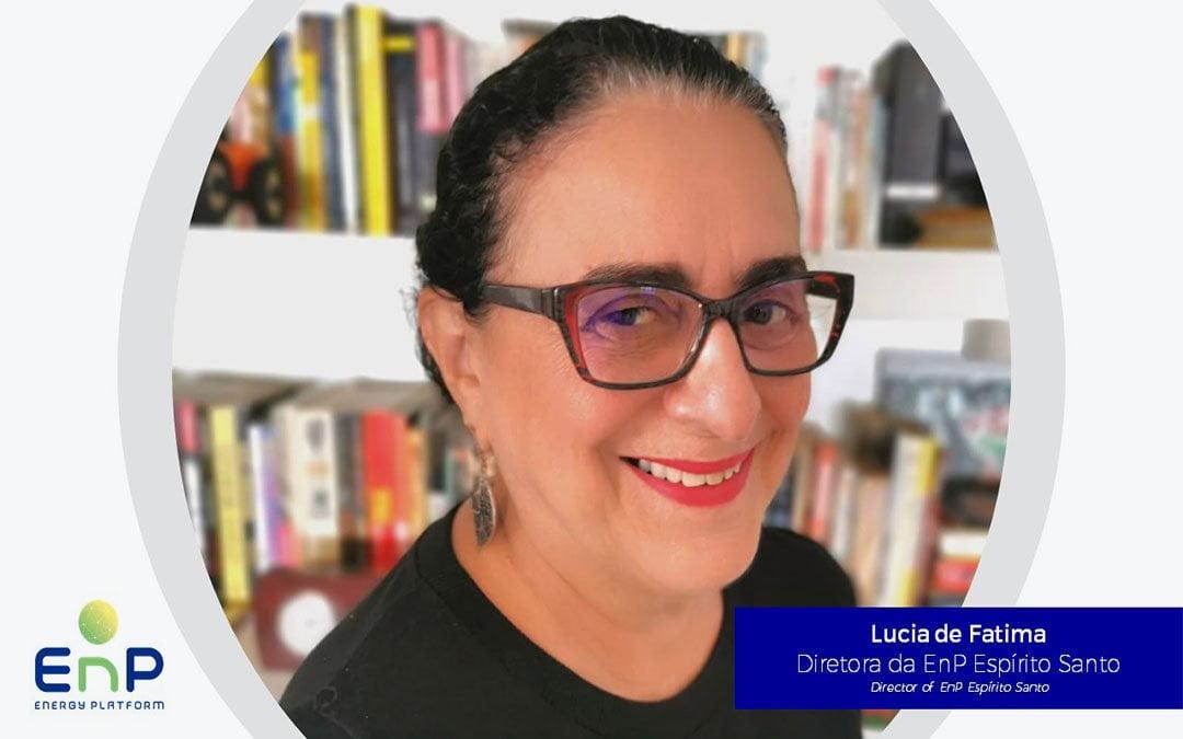 Lucia de Fátima assume a Diretoria da EnP para o Espírito Santo
