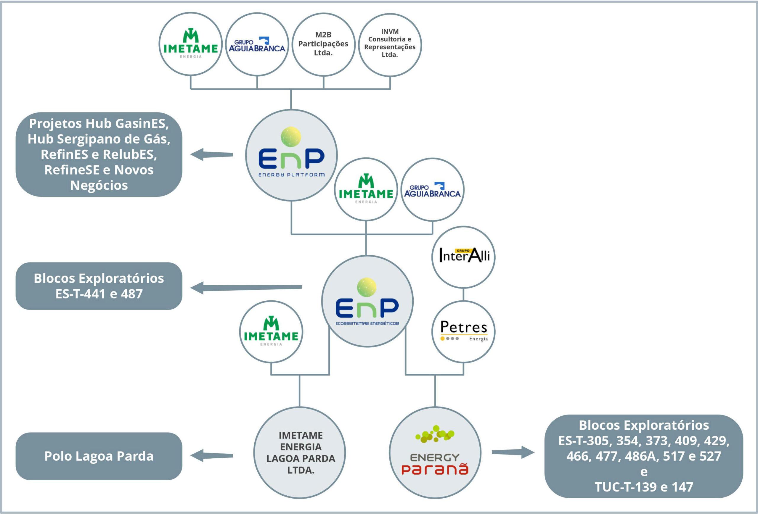 Organograma do Grupo EnP