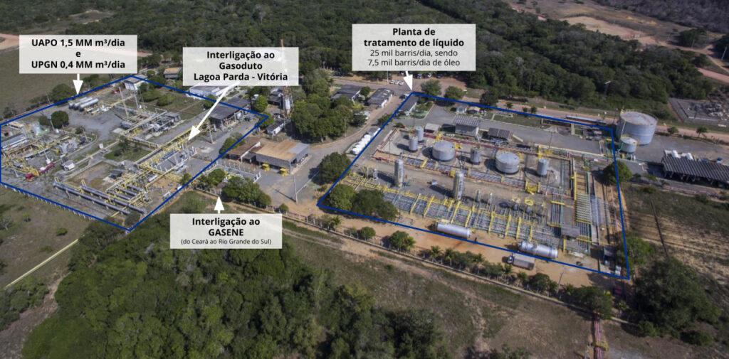 UAPO/UPGN Lagoa Parda e Planta de Tratamento de Líquidos (Linhares/ES)
